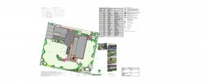 Omakotialo luonnontilaisen alueen reunassa, pihasuunnitelma, Piha- ja Vihersuunnittelu AnitaS